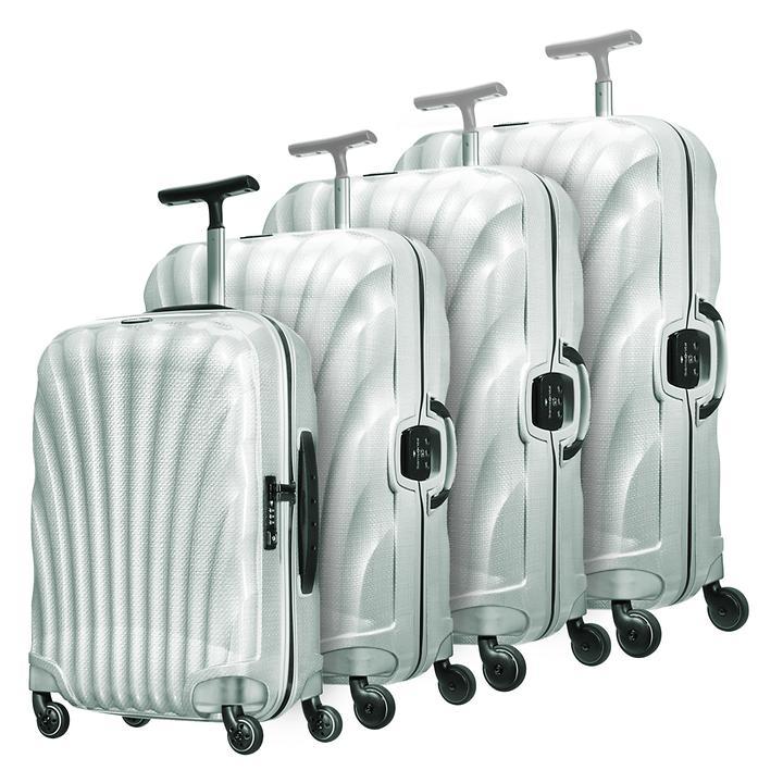 Samsonite Lite-Locked, Trolleys, off-white, 4 Rollen