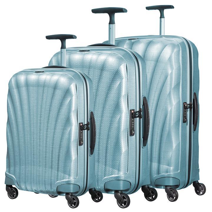 Samsonite Cosmolite, Trolleys, Ice Blue, 4 Rollen