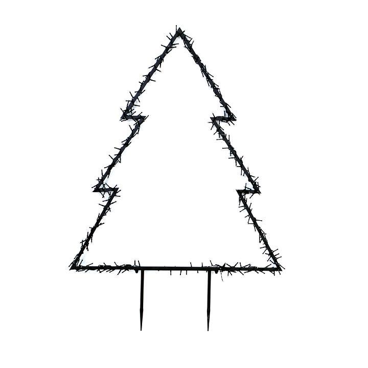 LED-Baum Santa Gr. XL