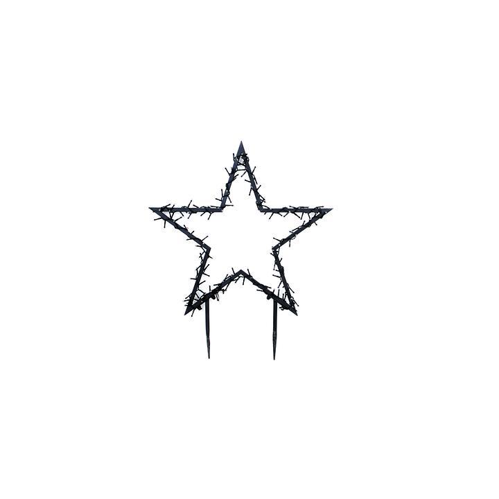 LED-Stern Santa Gr. M
