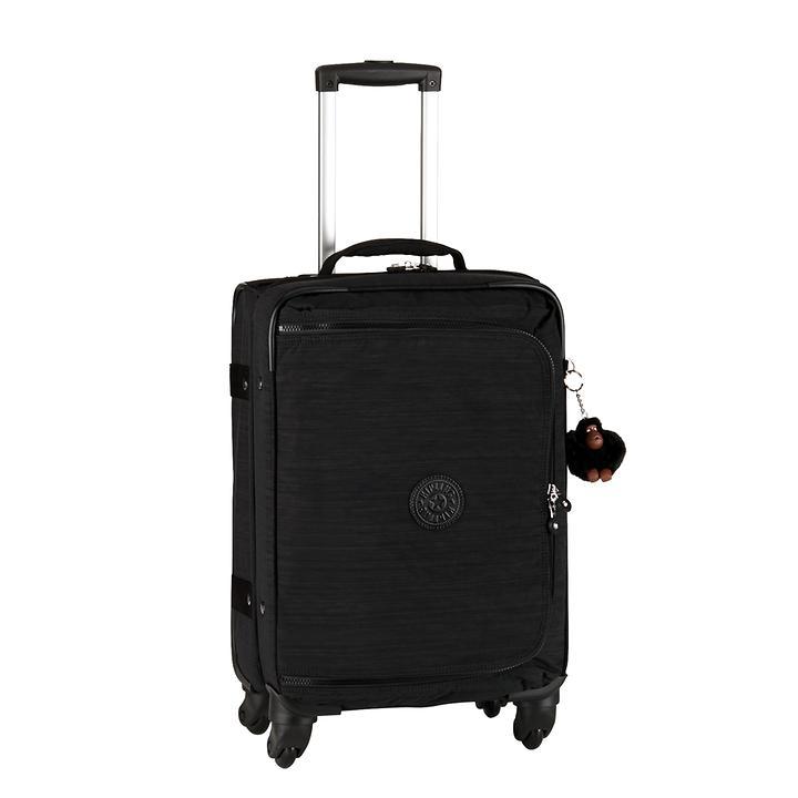 Kipling Cyrah, 55 cm, Trolley, dazz black, 4 Rollen, Kabinengepäck | Taschen > Koffer & Trolleys > Trolleys | Kipling