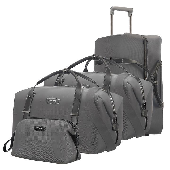 Samsonite Lite DLX SP, Reisetaschen & Toilet Kit, grau