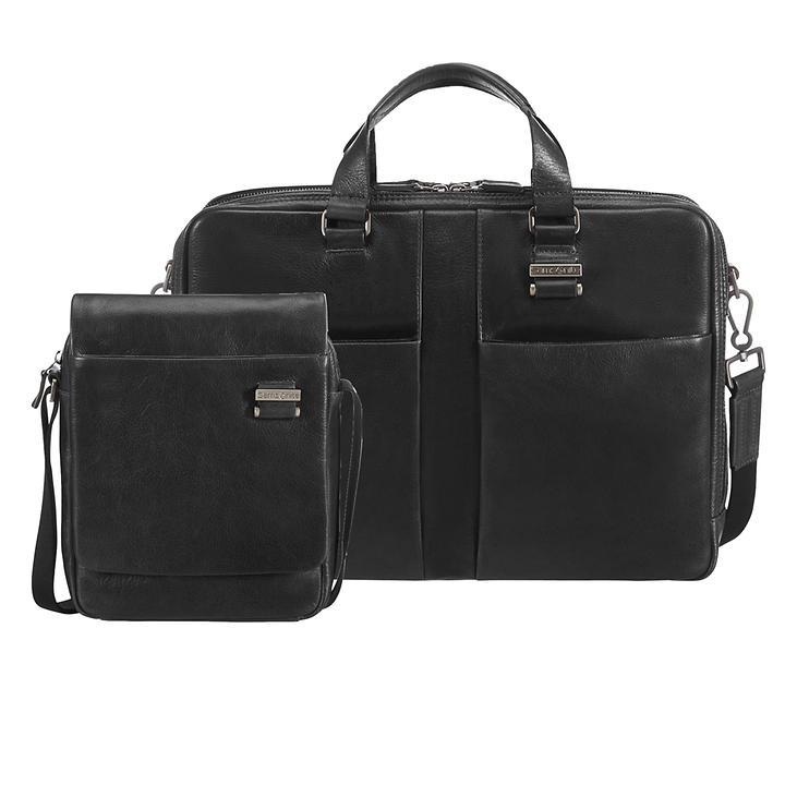 Samsonite West Harbor Crossover-Bag & Aktentasche schwarz