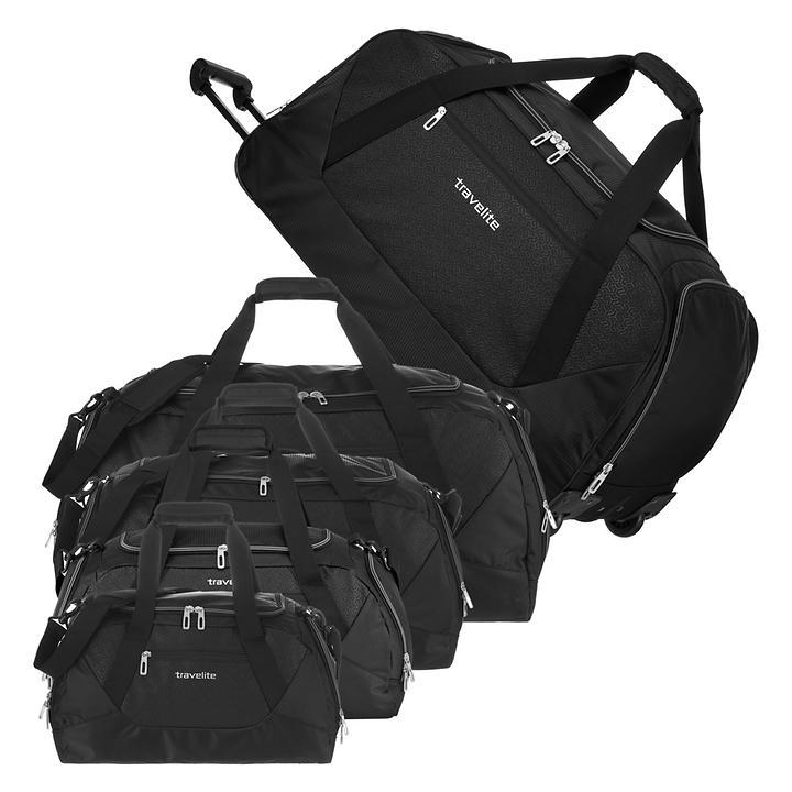 travelite Kick Off, Freizeittasche, 26 cm, schwarz