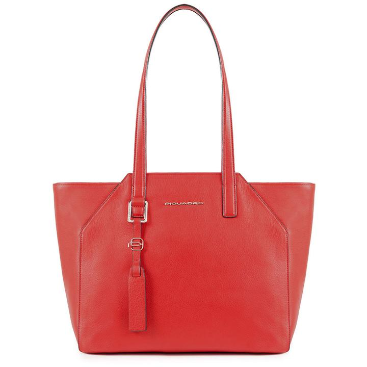 Piquadro Muse, 27 cm, Damenhandtasche, rosso (BD4324MU/R)
