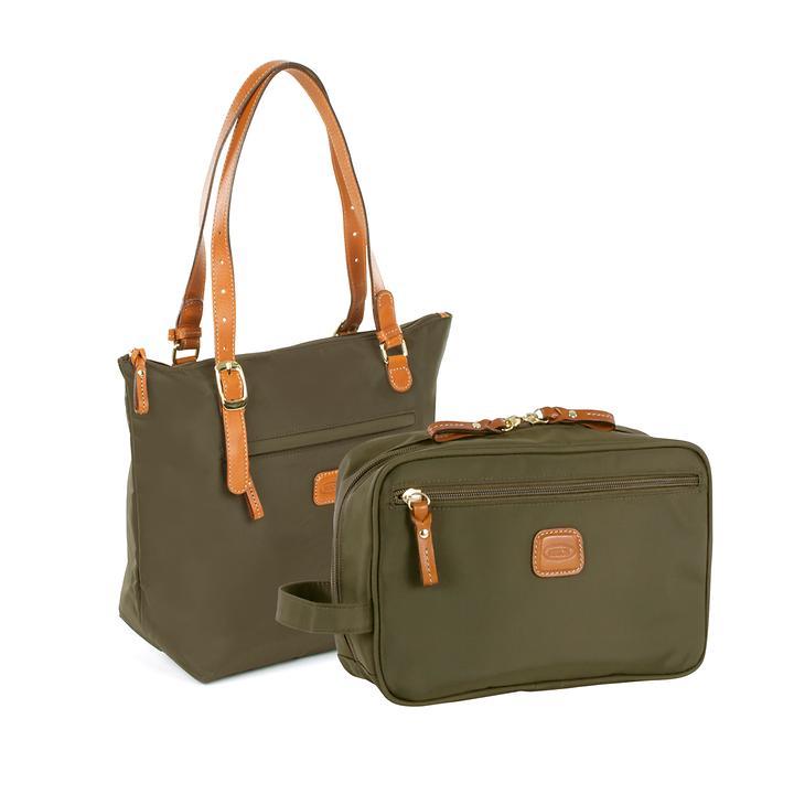 Bric's X-Bag X-Travel Kosmetik- und Handtasche olive