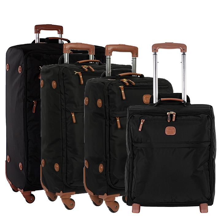 Bric's X-Bag X-Travel Trolleys schwarz 2 & 4 Rollen