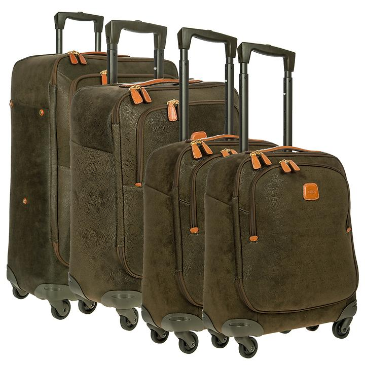 Bric's Life Trolleys olive 4 Rollen