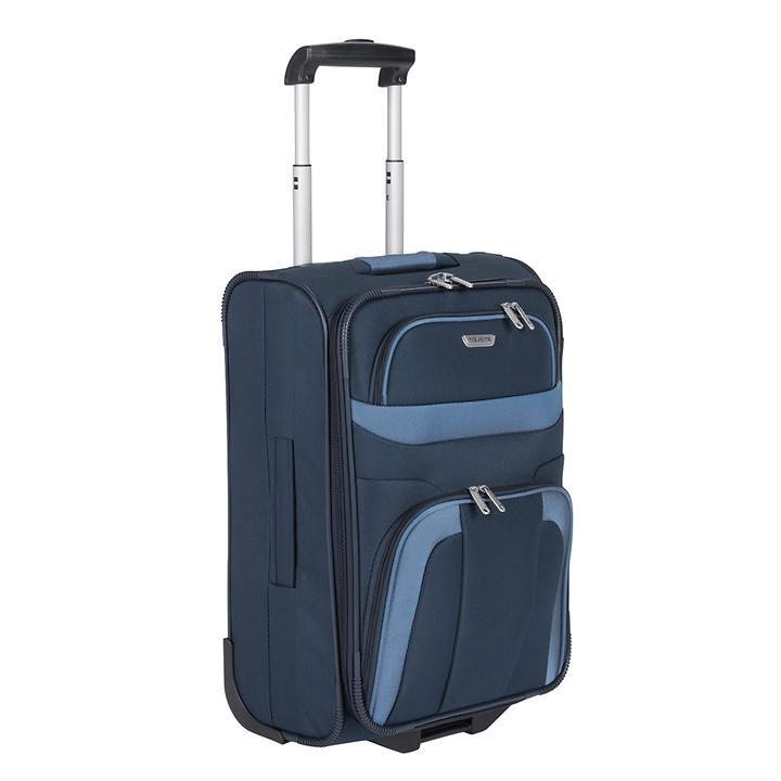 travelite Orlando, 53 cm, Trolley, marine, 2 Rollen, Kabinengepäck