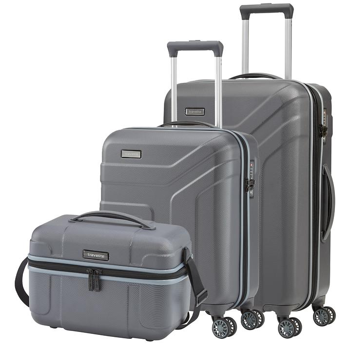 travelite Vector Trolleys, anthrazit, 4 Rollen