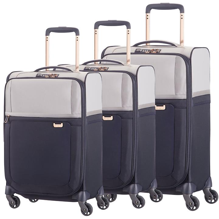 Samsonite Uplite Trolleys, pearl/blue, 4 Rollen