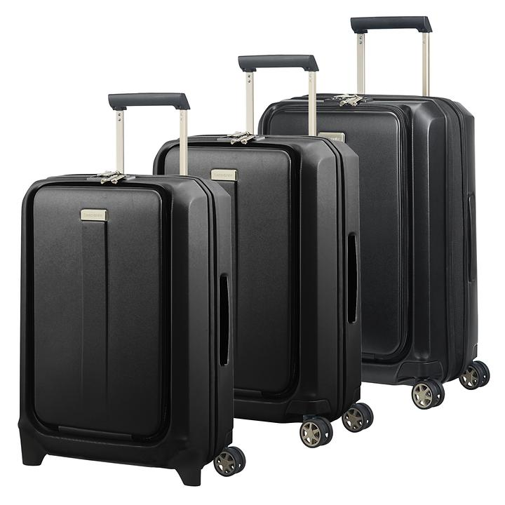 Samsonite Prodigy Trolleys, schwarz, 2 & 4 Rollen