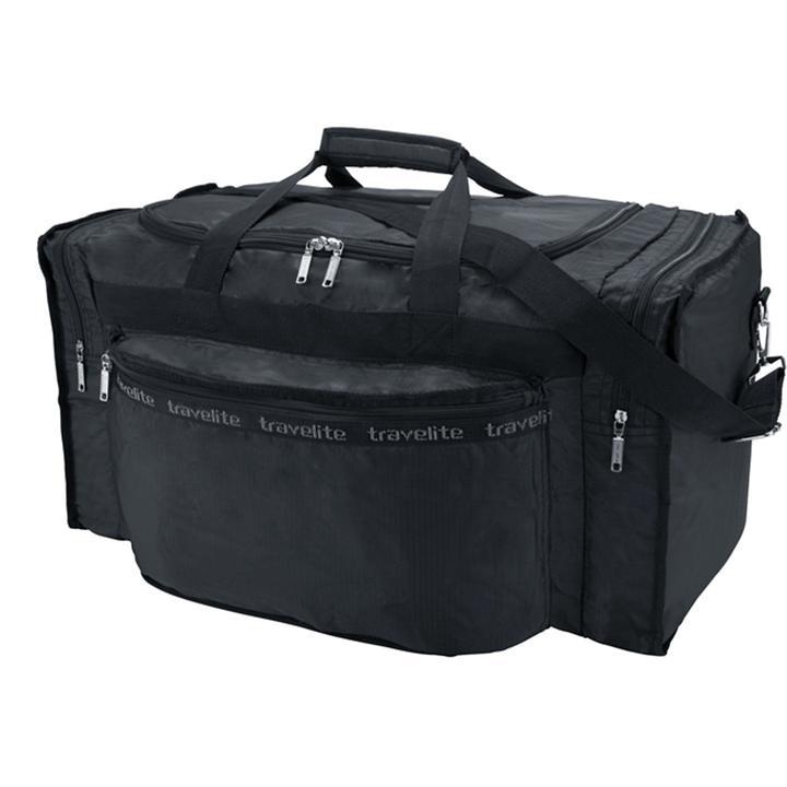 travelite MiniMax 46 cm Faltreisetasche S schwarz