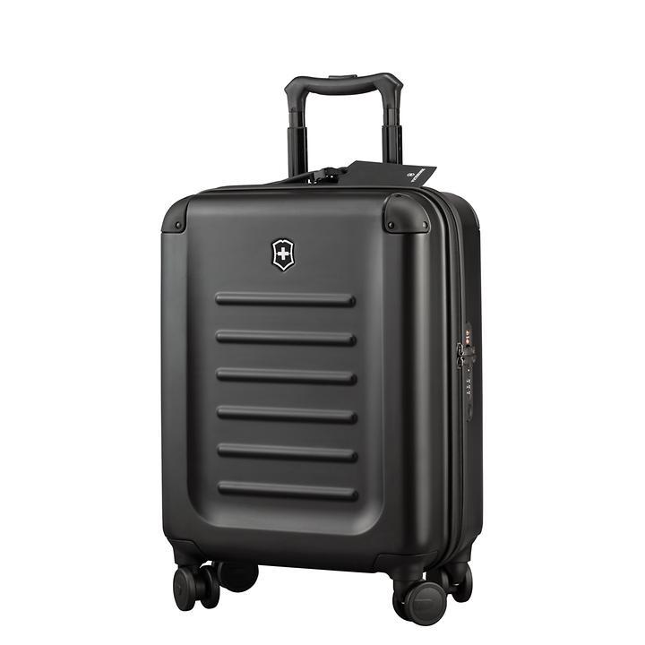 Victorinox Spectra 2.0, 55 cm, Trolley, schwarz, 4 Rollen, Kabinengepäck