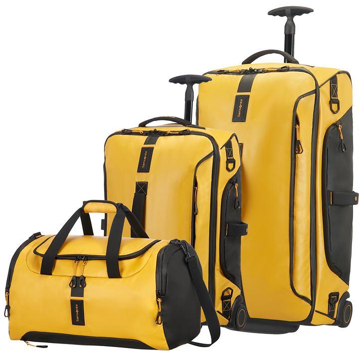 Samsonite Paradiver light Reisetaschen, gelb, 2 Rollen