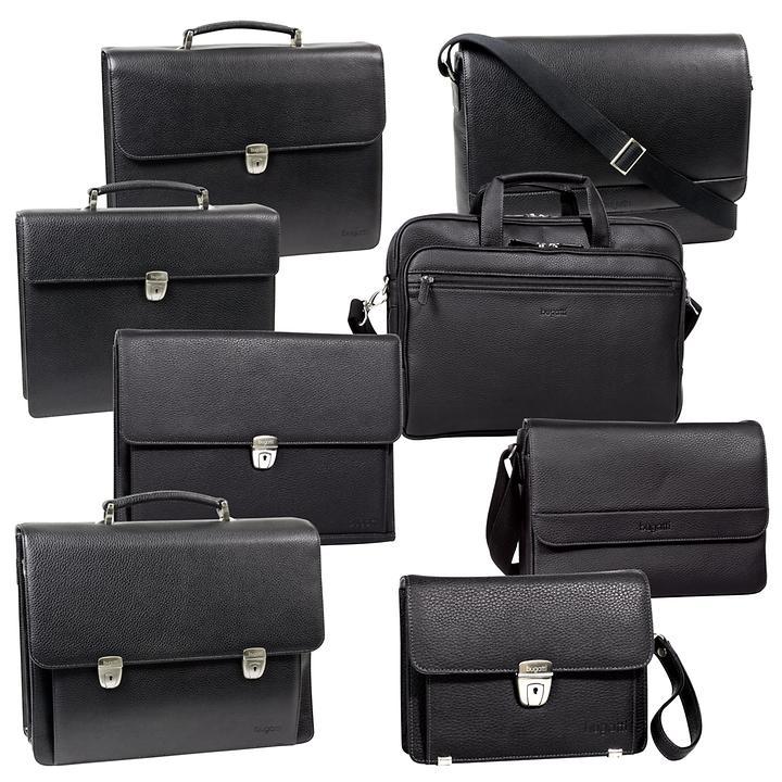 Bugatti Time Businesstaschen, schwarz