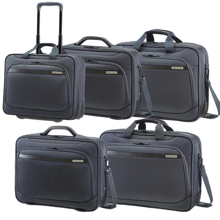 Samsonite Vectura Laptoptaschen und Office Case sea grey 2 Rollen