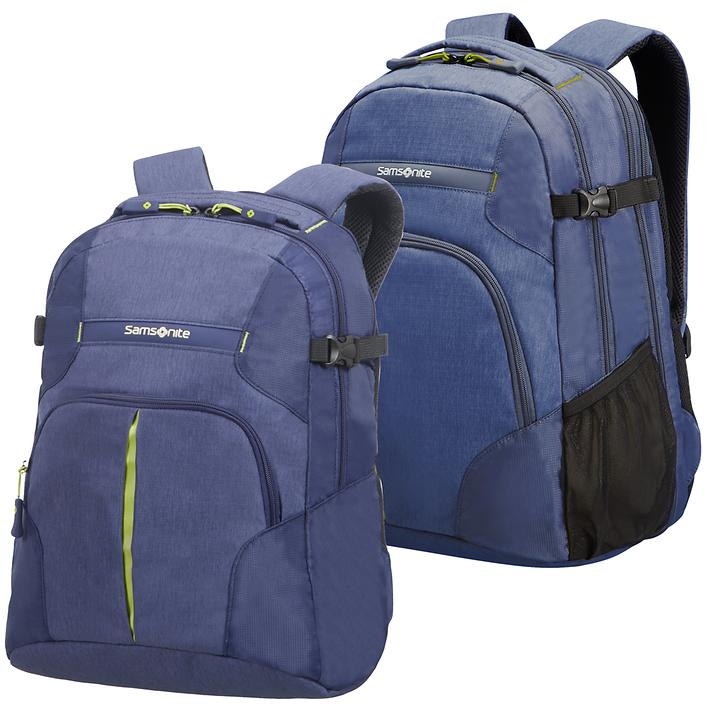 Samsonite Rewind Laptop-Rucksack, dark blue