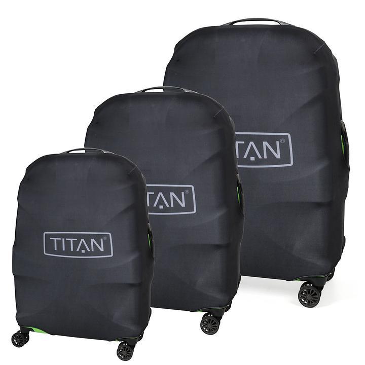 TITAN X2 Luggage Cover blackstone für 4 Rollen