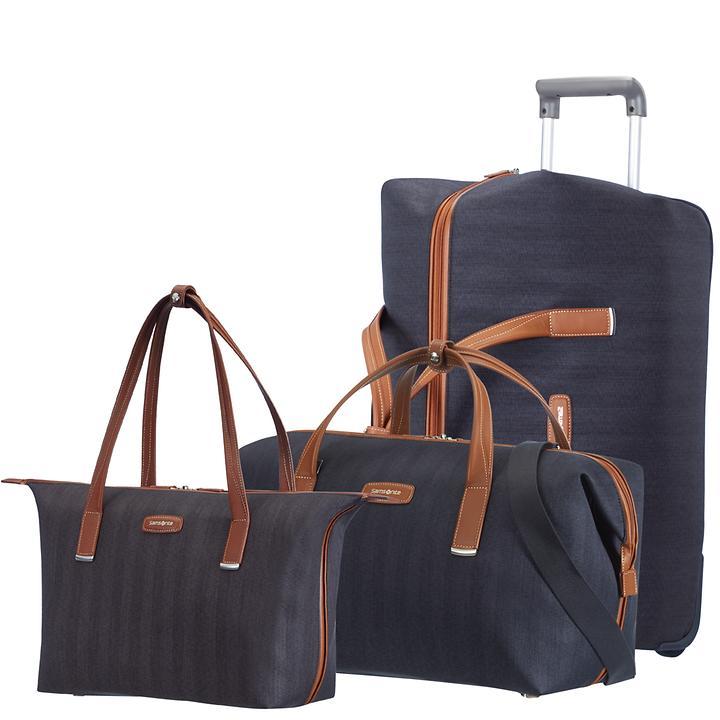 Samsonite Lite DLX Reise- und Handtasche midnight blue