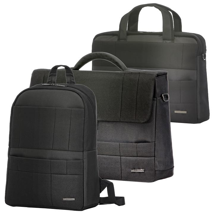 Ciak Roncato B-Class Backpack, Briefcase & PC holder, nero