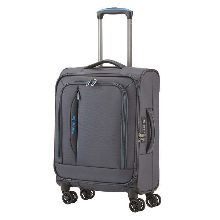 Travelite CrossLITE, 55 cm, Trolley, Anthrazit, 4 Rollen