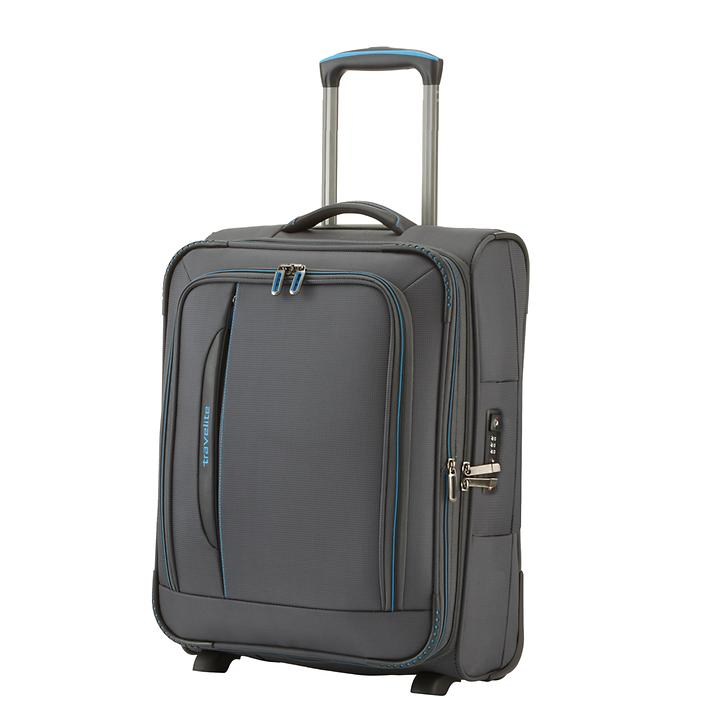 Travelite CrossLITE, 54 cm, Trolley, Anthrazit, 2 Rollen, erweiterbar