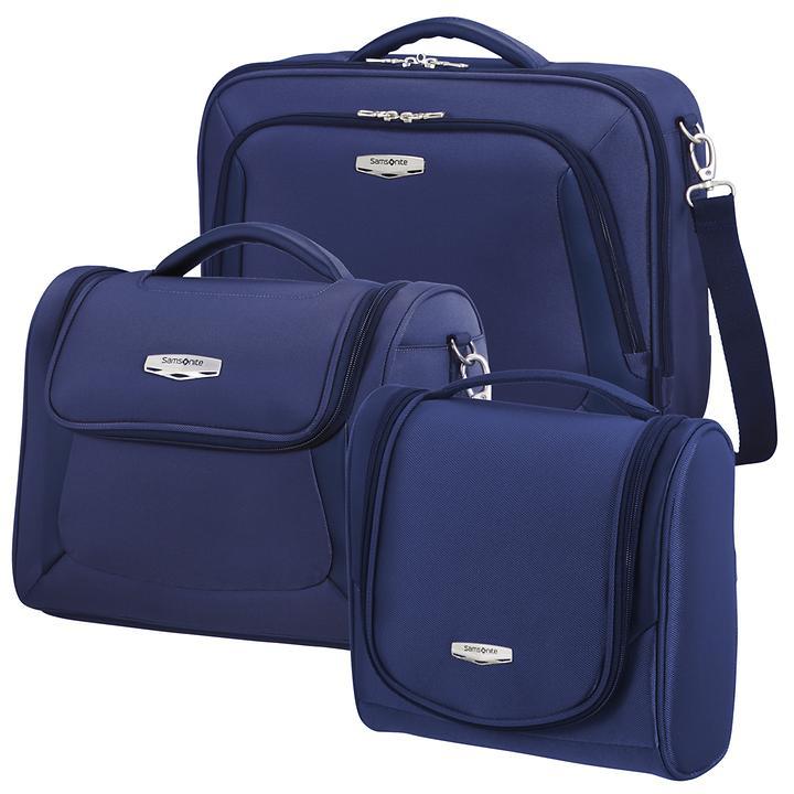 Samsonite X'Blade 3.0 Toilet Kit, Laptop shoulder bag & Beautycase, blau