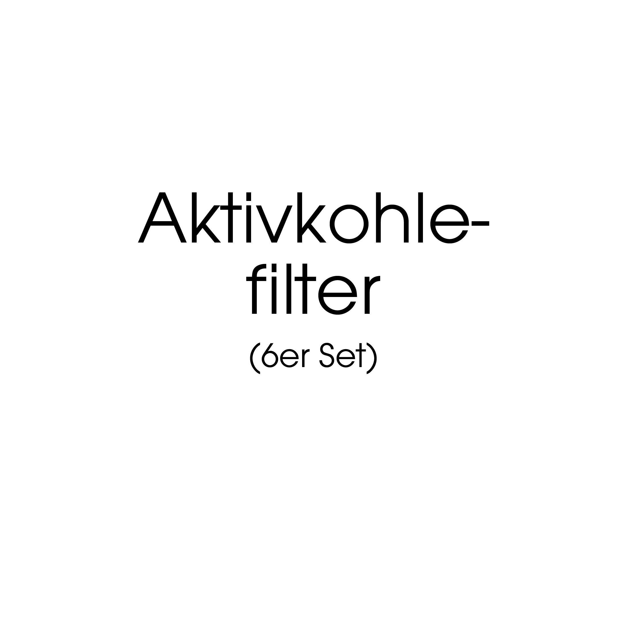 Aktivkohle Filter, 6er-Set, f. Weinkühlschränke WL450 F & DF
