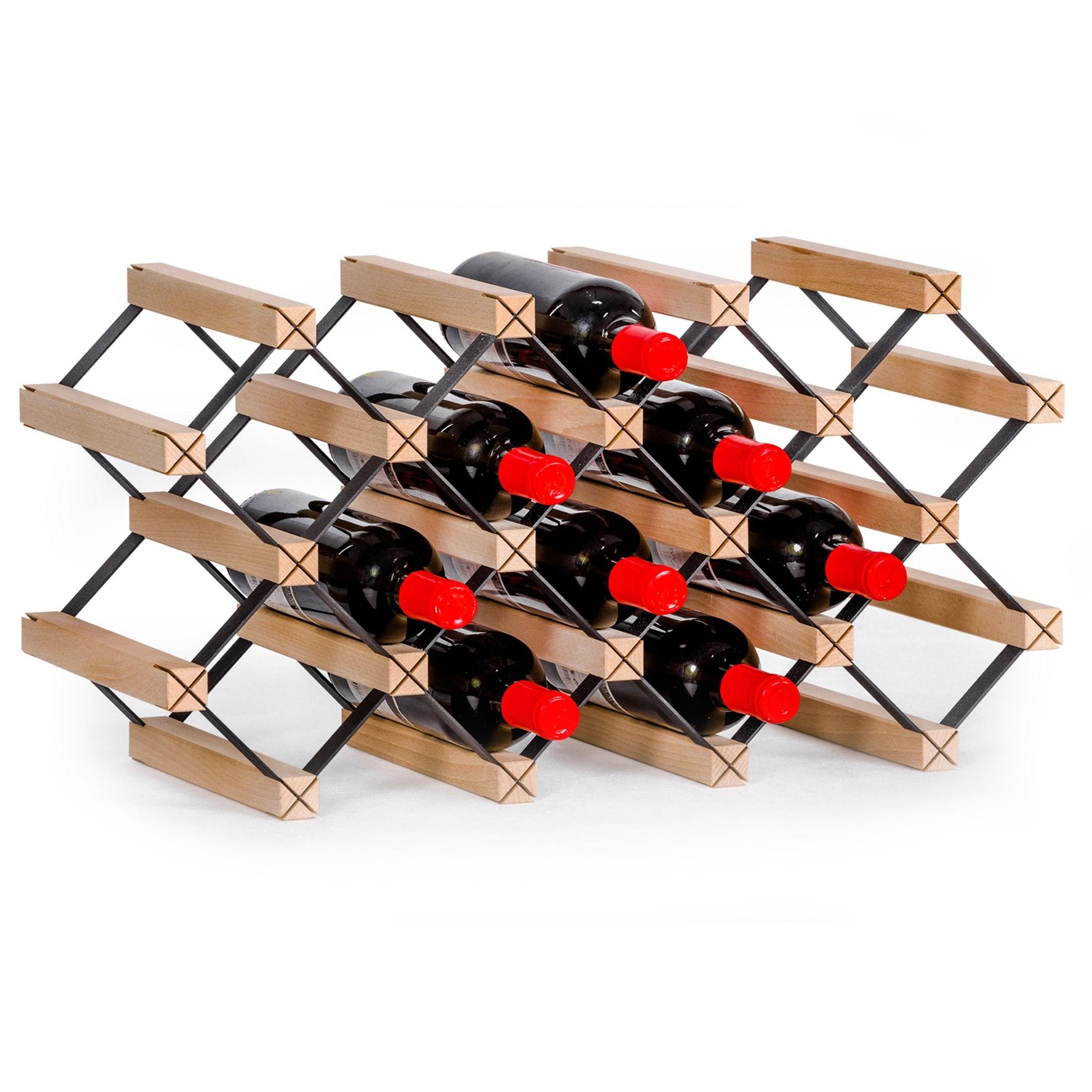 Weinregal Prava für 12 oder 14 Flaschen