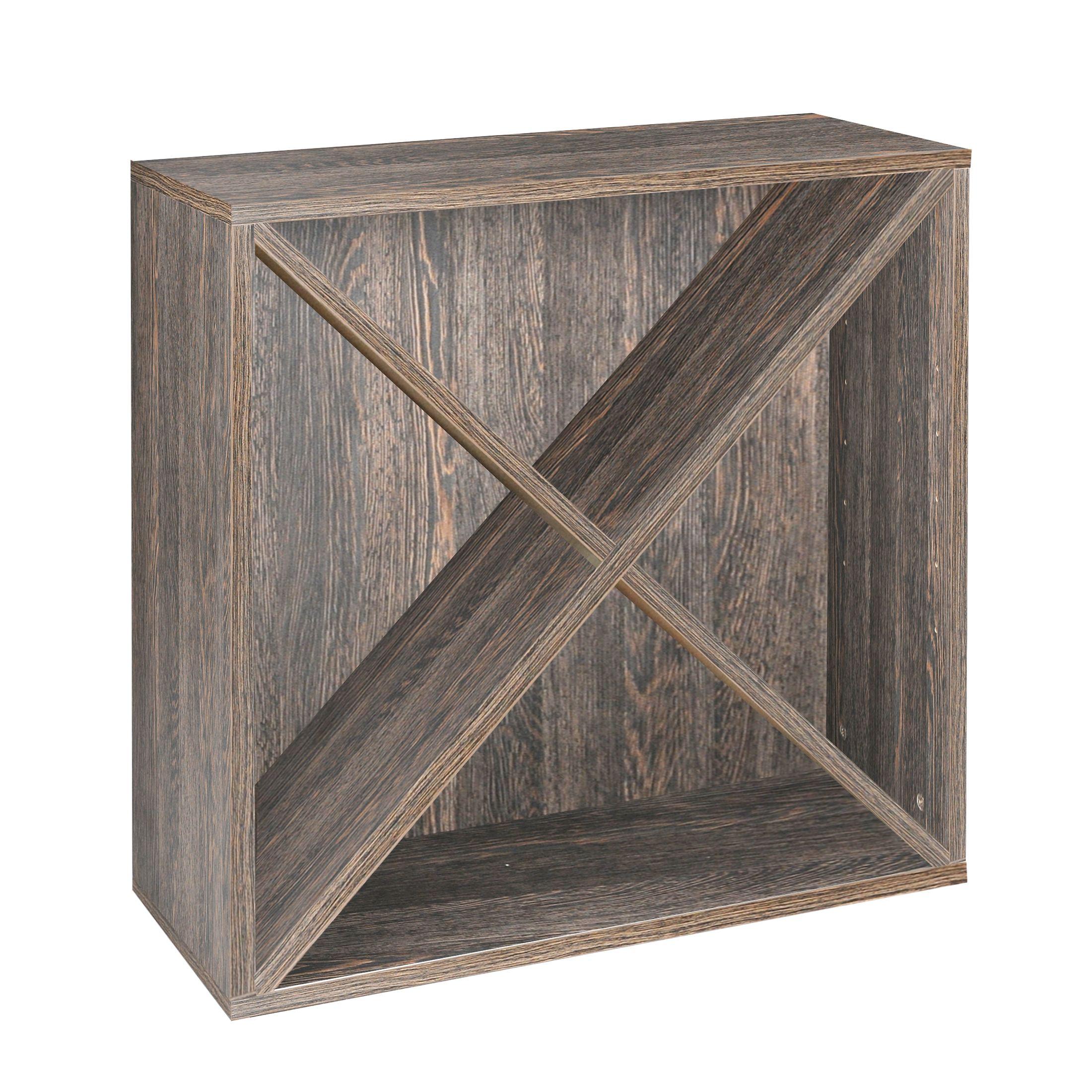 Weinegal-Modul mit X-Kreuz, Wenge