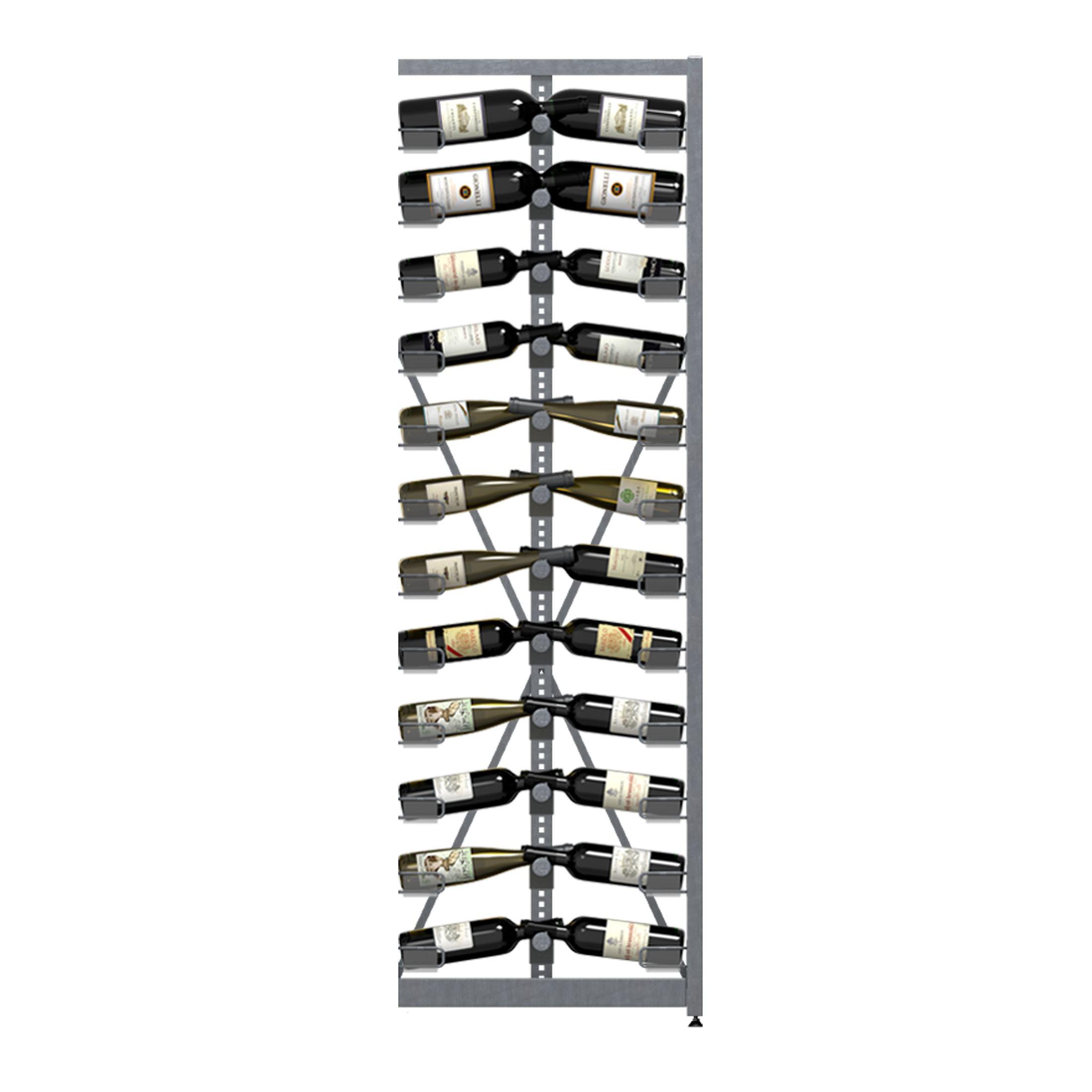 Weinregal Xi Rack 12: Anbaumodul, 12 Ebenen