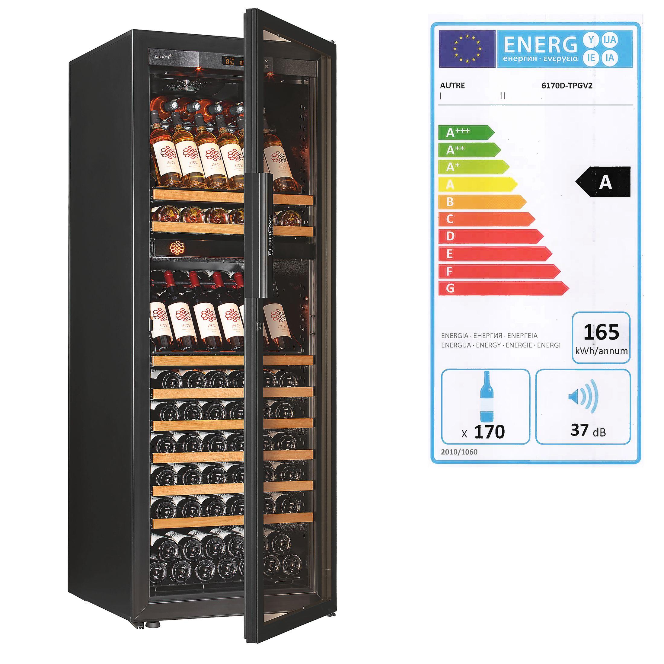 Zweizonen-Weinklimaschrank DUAL ZONE für 150 Flaschen