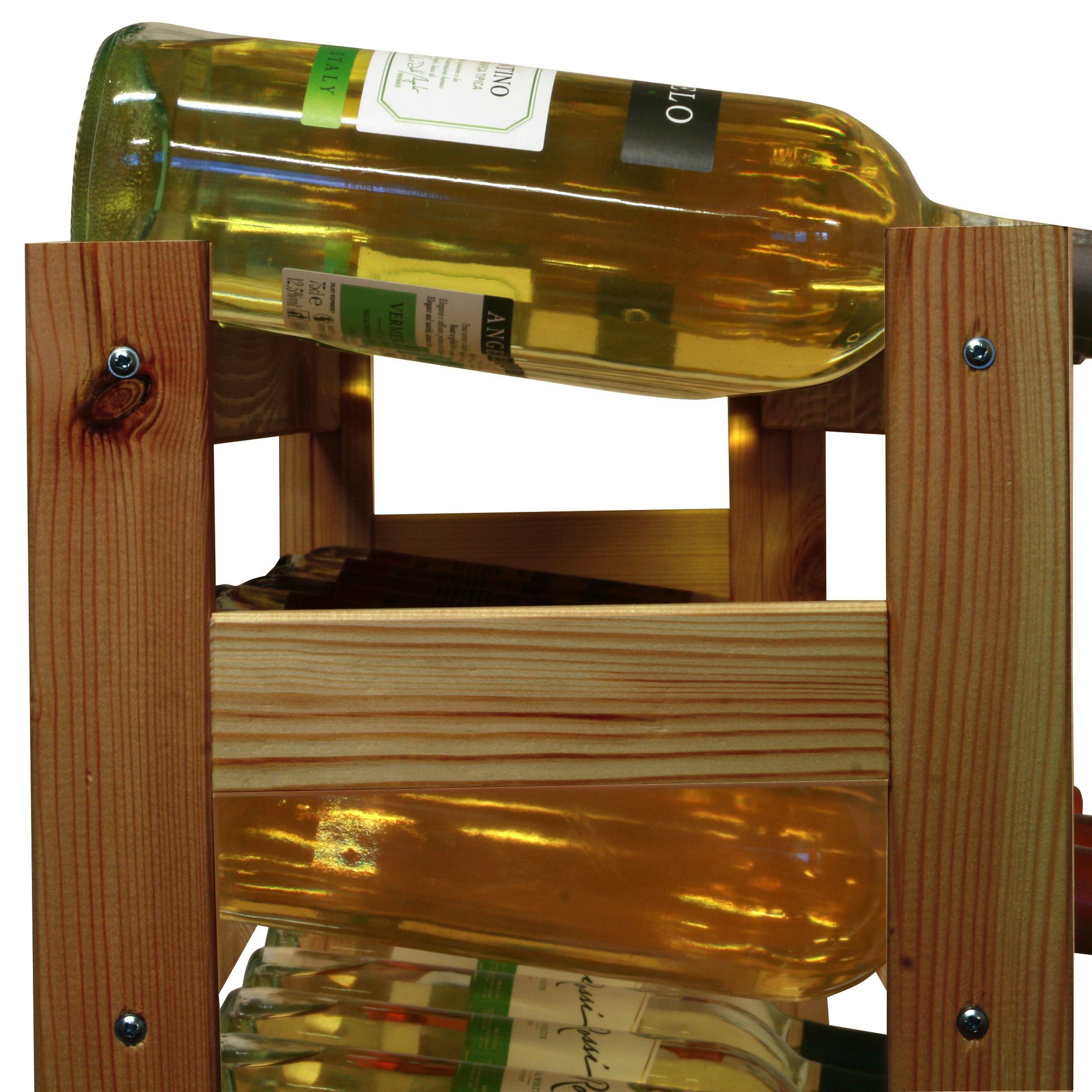 weinregal flaschenregal system simplex holz kiefer. Black Bedroom Furniture Sets. Home Design Ideas