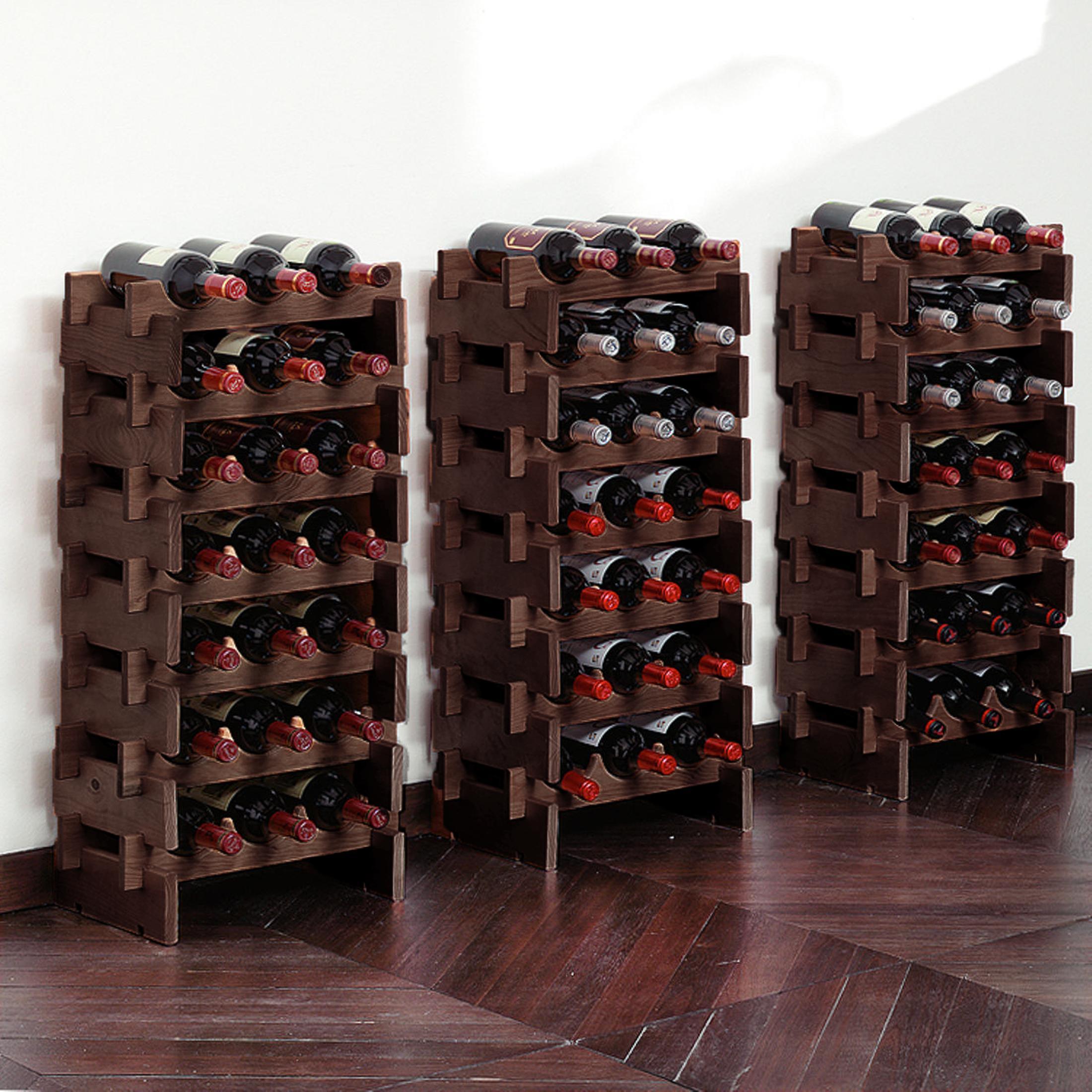 Weinregal Merlot Kiefer Natur H25 X B39 X T29 Cm Fur 6 Fl Wine Racks Home Furniture Diy Plastpath Com Br