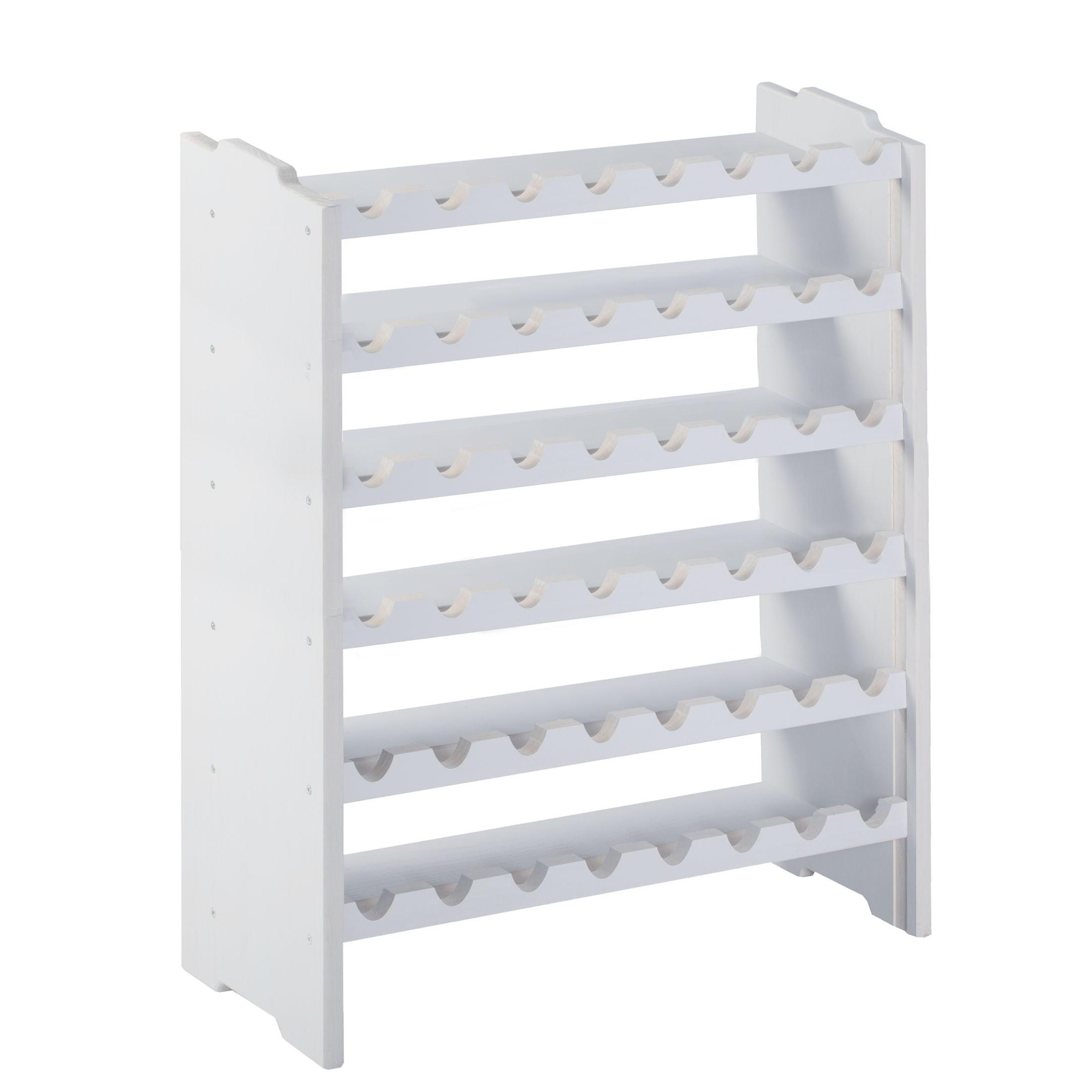 weinregal system medoc holz kiefer wei stapelbar. Black Bedroom Furniture Sets. Home Design Ideas