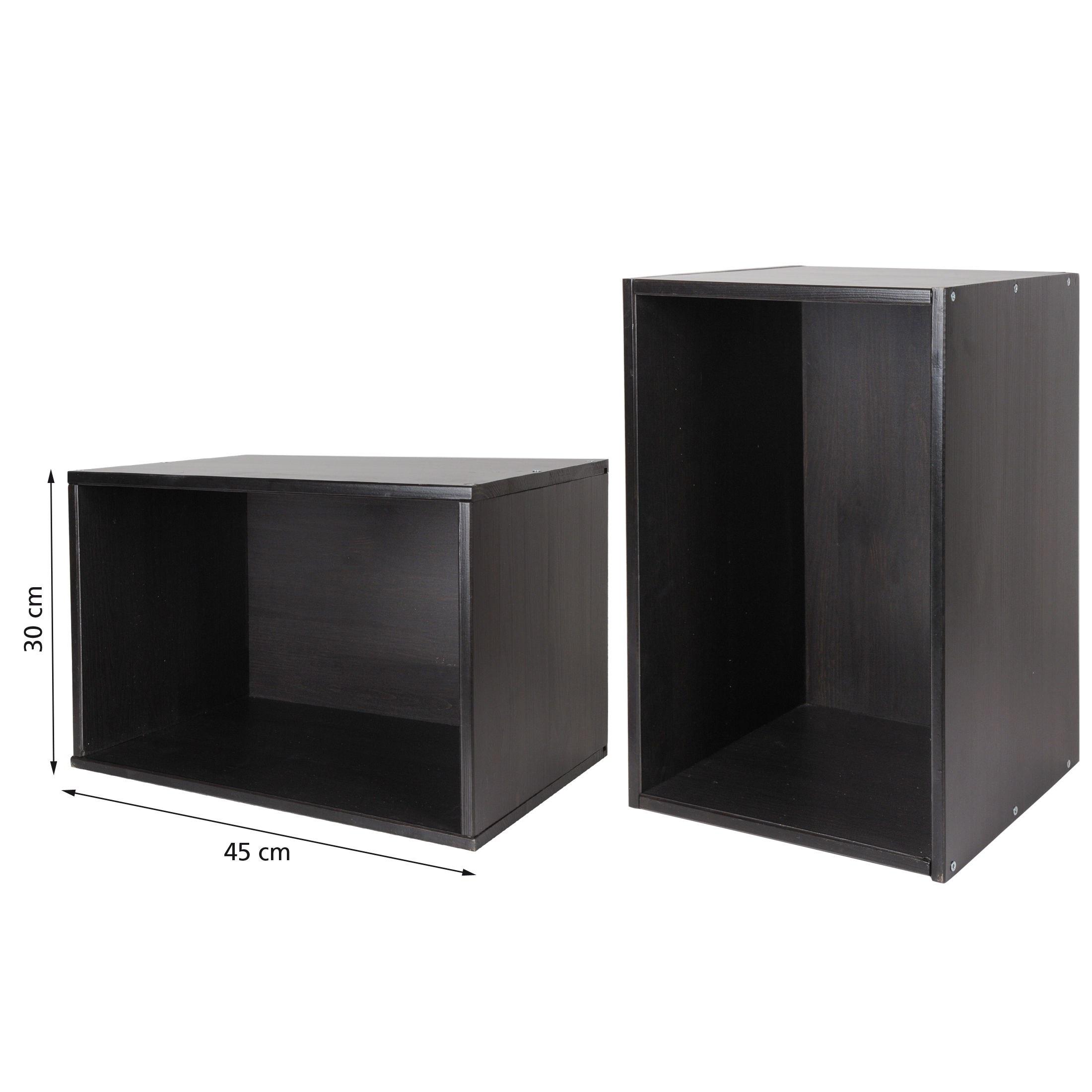 weinregal flaschenregal veneto holz kiefer natur und wenge kiste f r 18 fl ebay. Black Bedroom Furniture Sets. Home Design Ideas