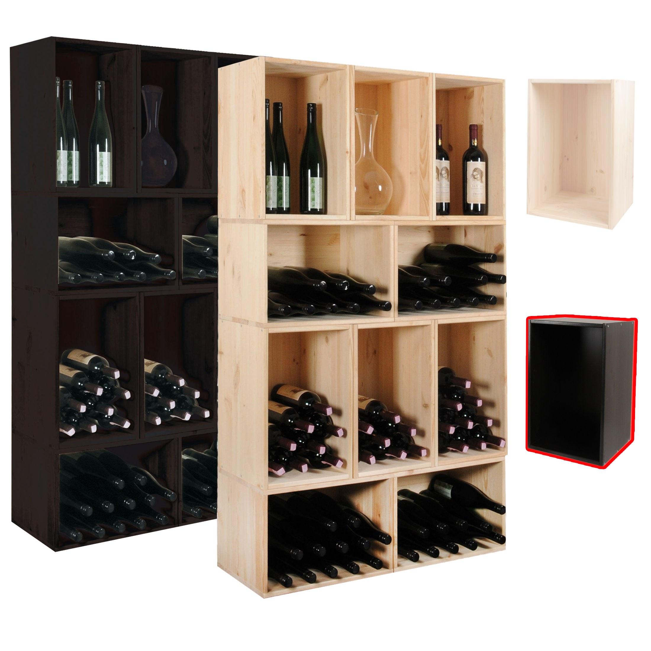 tag re vin caisse pour le rangement du vin ebay. Black Bedroom Furniture Sets. Home Design Ideas