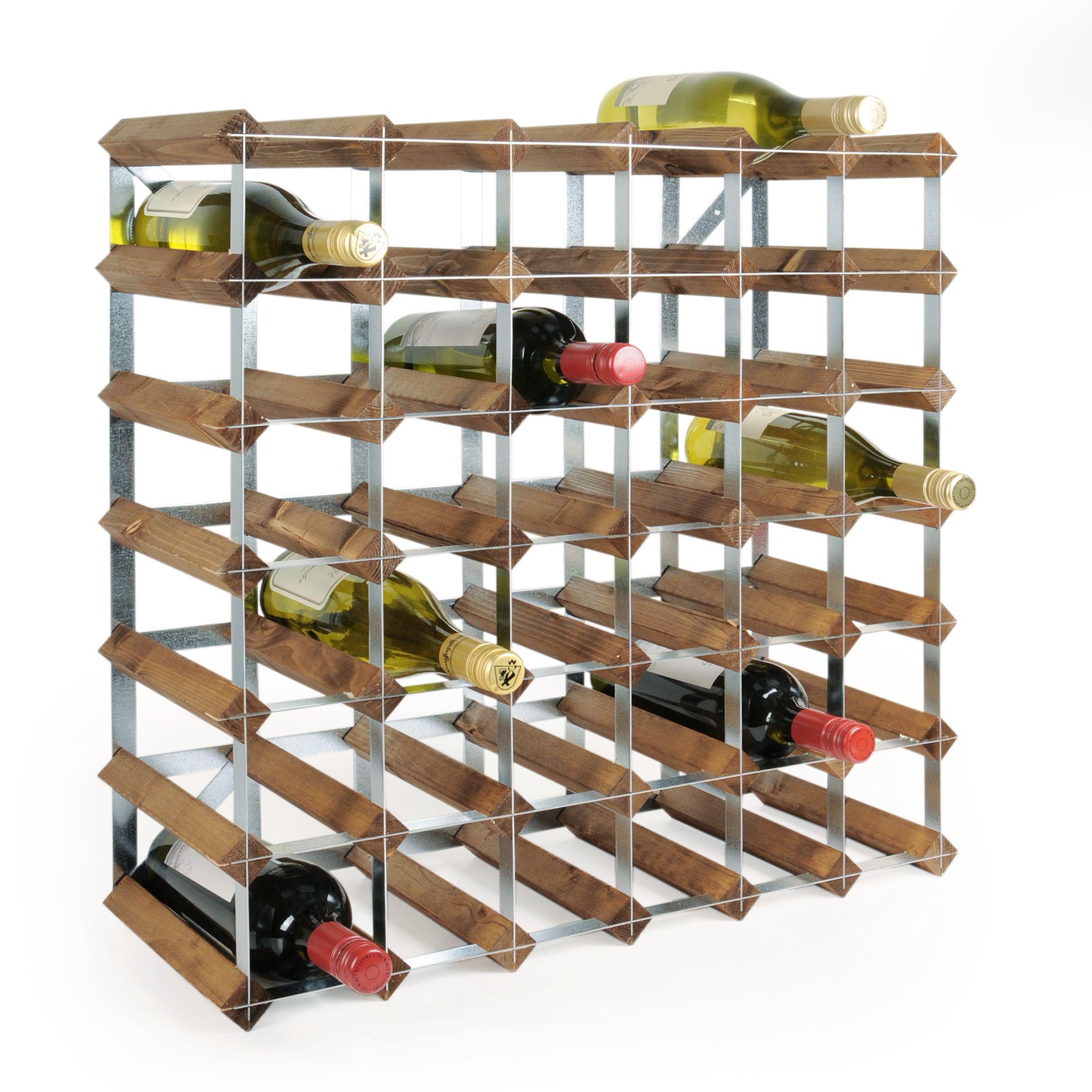 weinregal flaschenregal system trend holz kiefer braun. Black Bedroom Furniture Sets. Home Design Ideas