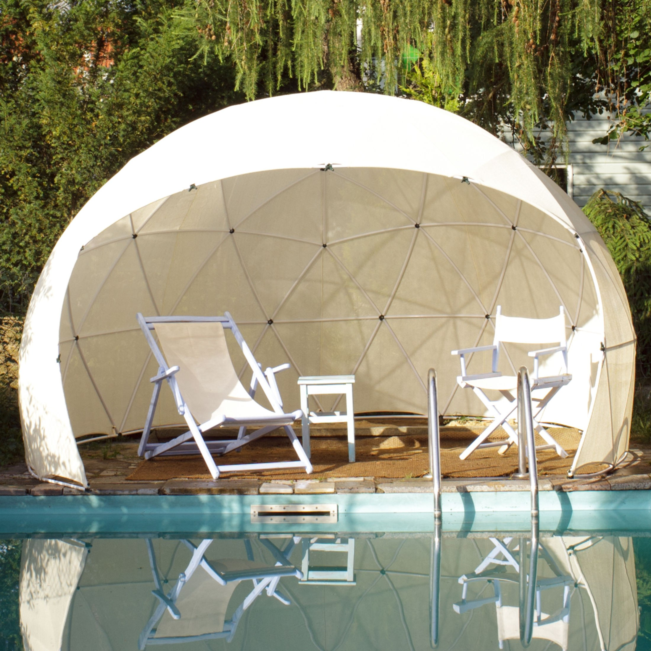 Garden igloo pavillon serre jardin igloo four seasons et appropri de son ebay - Igloo de jardin ...