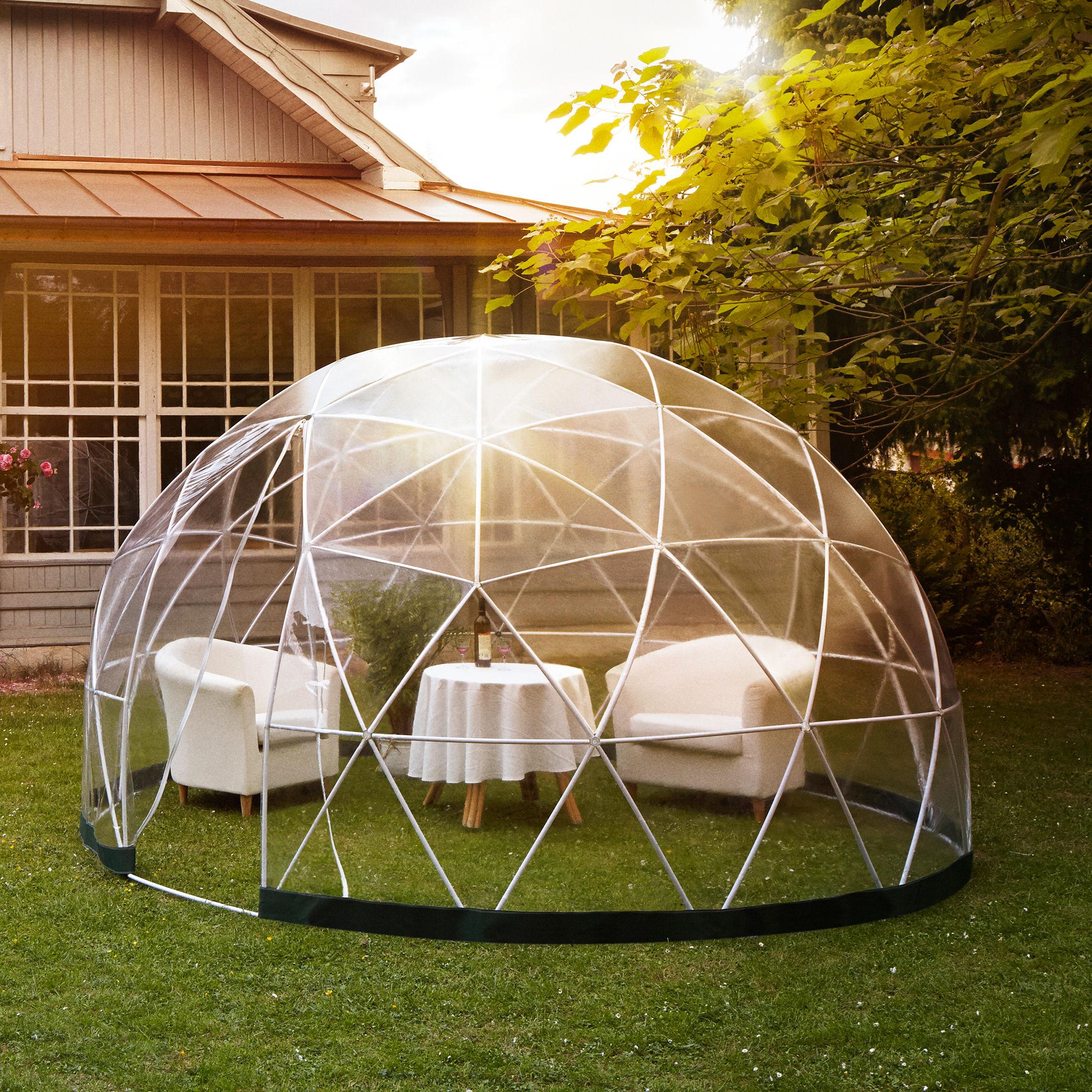 garten iglu pavillon gew chshaus garden igloo four