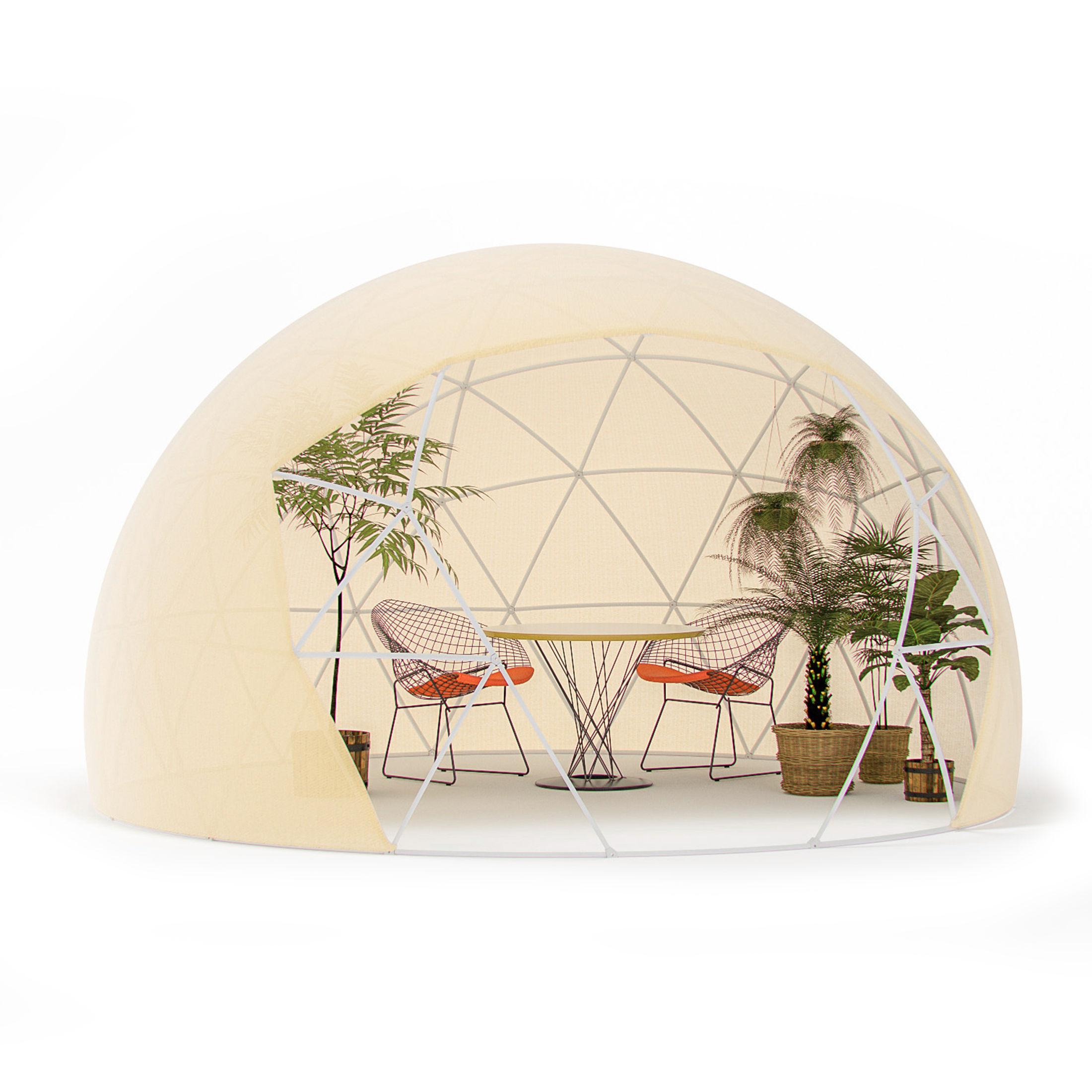 garten iglu pavillon gew chshaus garden igloo four seasons und passender son ebay. Black Bedroom Furniture Sets. Home Design Ideas