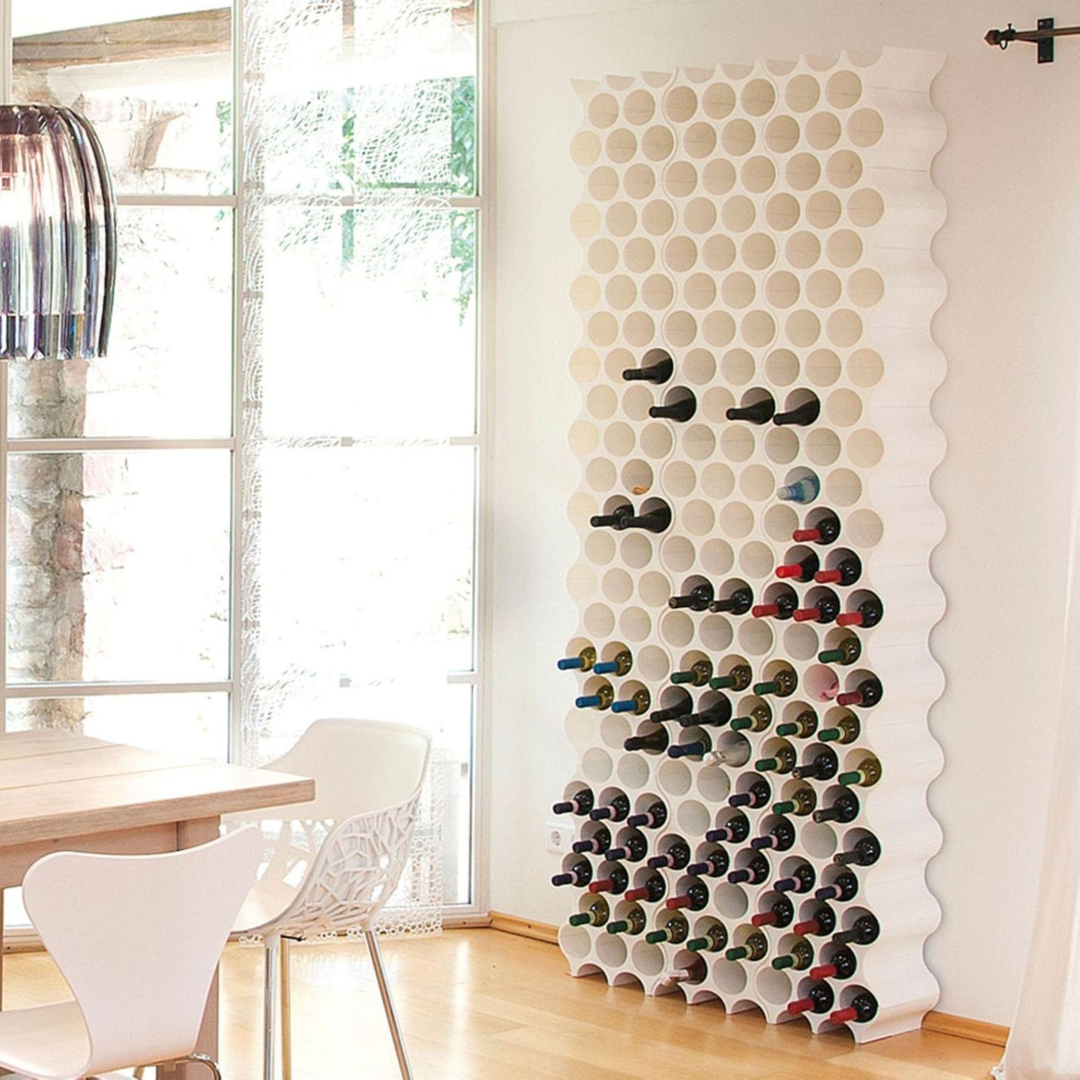 weinregal flaschenregal system set up f r 8 flaschen kunststoff stapelbar ebay. Black Bedroom Furniture Sets. Home Design Ideas
