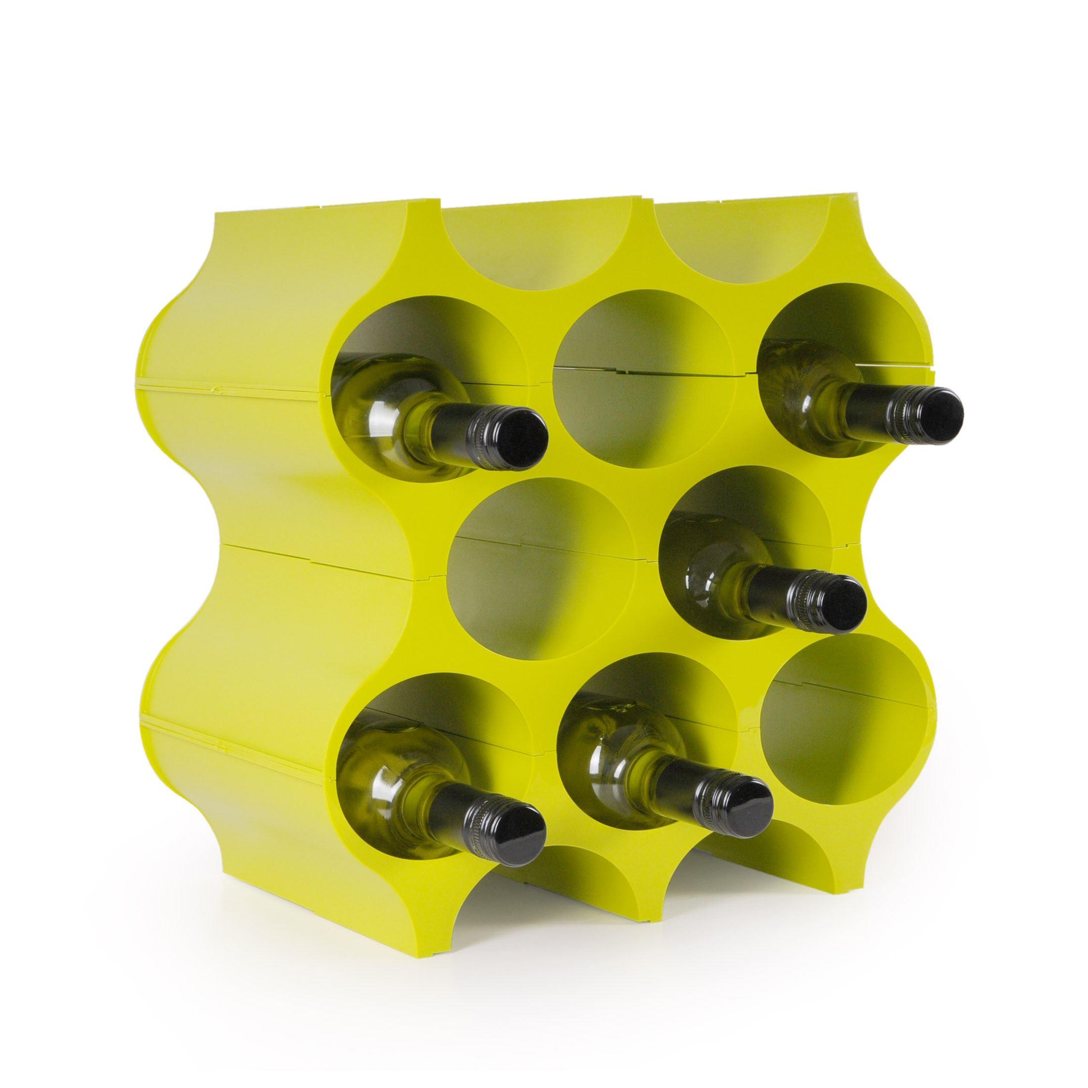 weinregal flaschenregal system set up f r 8 flaschen kunststoff stapelbar. Black Bedroom Furniture Sets. Home Design Ideas