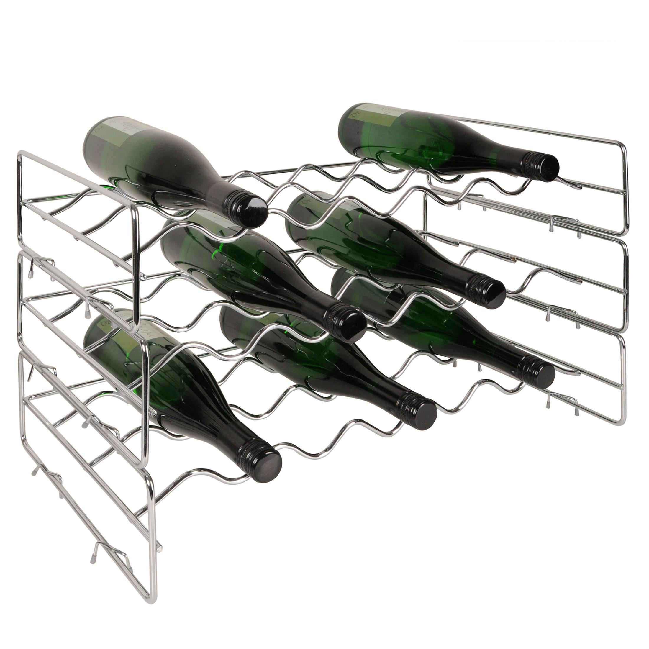 weinregal flaschenregal system loop metall stahl. Black Bedroom Furniture Sets. Home Design Ideas