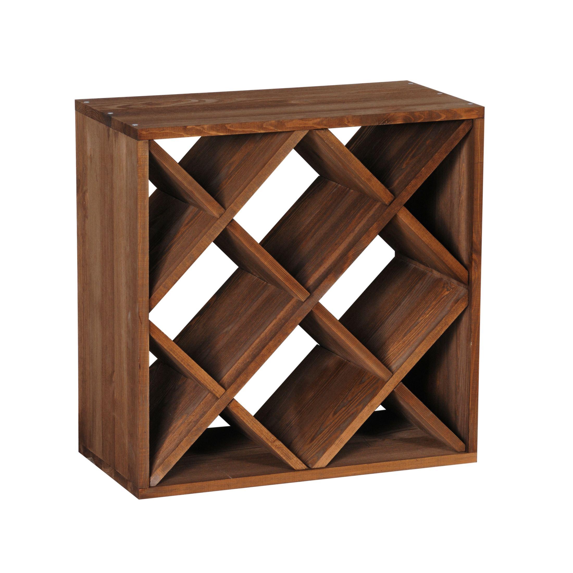 weinregal flaschenregal system cube 50 holz fichte. Black Bedroom Furniture Sets. Home Design Ideas